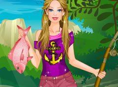 Barbie Pescando