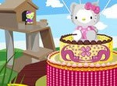 Decore o Bolo da Hello Kitty