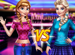 Frozen Anna vs Elsa