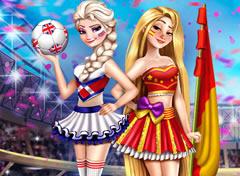 Princesas no Campeonato Mundial – Jogos Online de Menina